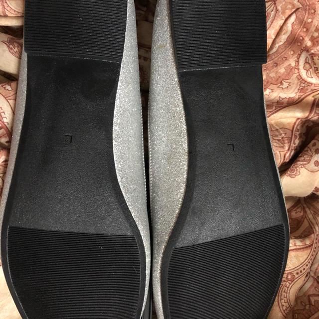 GU(ジーユー)のラウンドバレーシューズ Lサイズ レディースの靴/シューズ(ハイヒール/パンプス)の商品写真