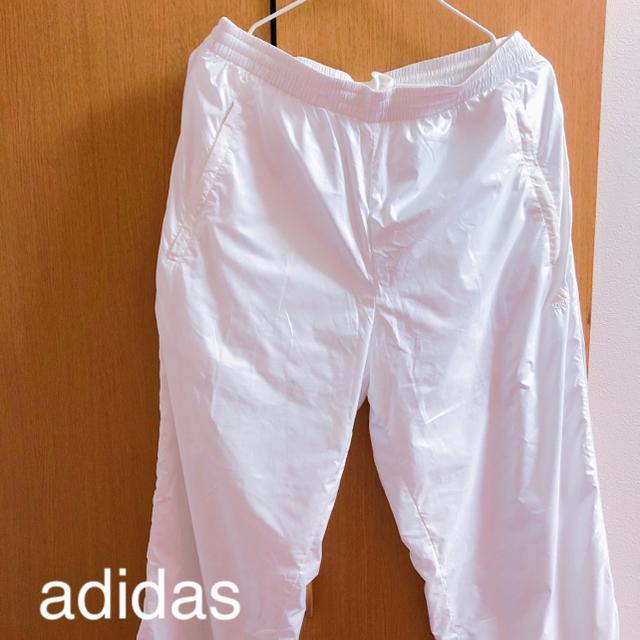 adidas(アディダス)のadidas アディダス 👖 ジャージ ホワイト 白 シャカパン メンズのトップス(ジャージ)の商品写真