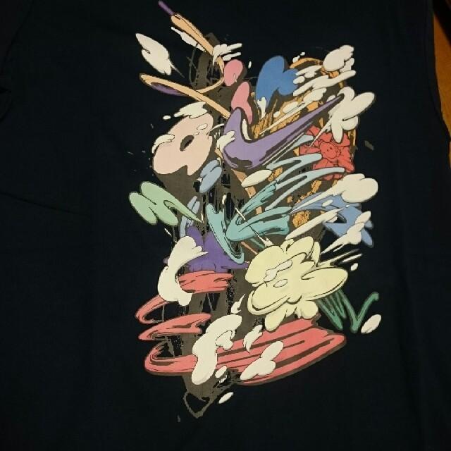NIKE(ナイキ)のナイキ Tシャツ キックス ラウンジ L ネイビー グラフィック メンズのトップス(Tシャツ/カットソー(半袖/袖なし))の商品写真