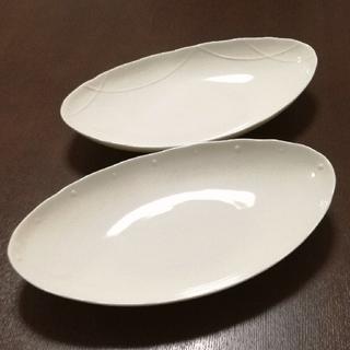 タチキチ(たち吉)の🍏 たち吉 ゆらぎ オーバル 組鉢 2枚セット(食器)