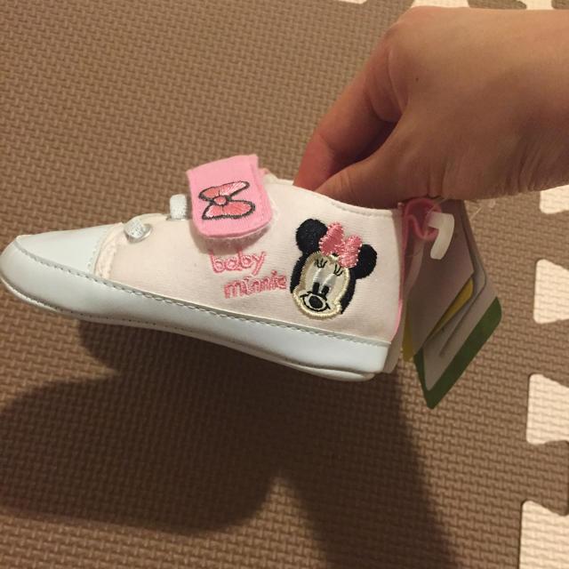 Disney(ディズニー)の新品★ファーストシューズ キッズ/ベビー/マタニティのベビー靴/シューズ(~14cm)(スニーカー)の商品写真