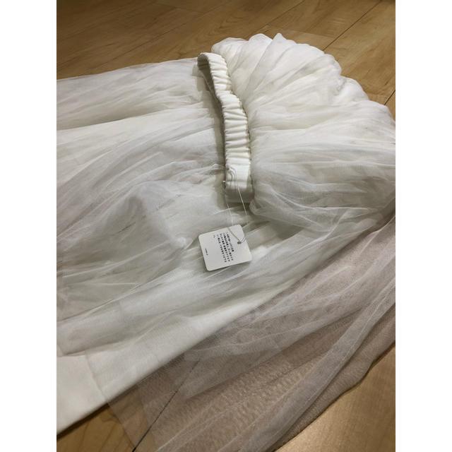GU(ジーユー)の【新品未使用】GU✪チュールスカート♡レギンス レディースのスカート(その他)の商品写真