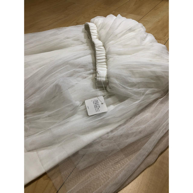 GU(ジーユー)の【新品未使用】GU✪チュールスカート♡レギンス レディースのスカート(ひざ丈スカート)の商品写真