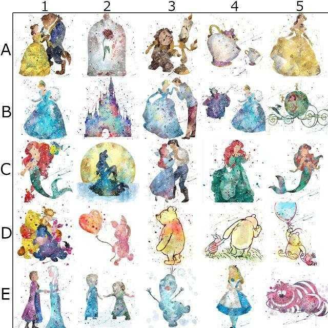 Disney(ディズニー)のピグレット(くまのプーさん)アートポスター【額縁つき・送料無料!】 エンタメ/ホビーのアニメグッズ(ポスター)の商品写真
