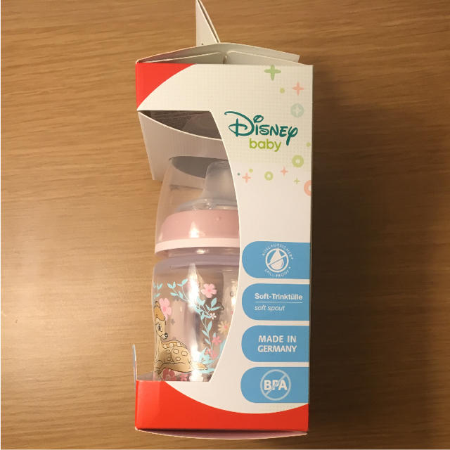 Disney(ディズニー)の新品 未使用 NUK ラーナーボトル ディズニー バンビ キッズ/ベビー/マタニティの授乳/お食事用品(哺乳ビン)の商品写真
