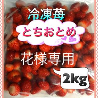 冷凍いちご 2kg  花様専用(フルーツ)
