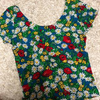 スライ(SLY)のSLY 花柄 半袖 Tシャツ(Tシャツ(半袖/袖なし))