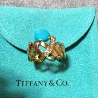 ティファニー(Tiffany & Co.)のティファニー ラブ&キス リング(リング(指輪))