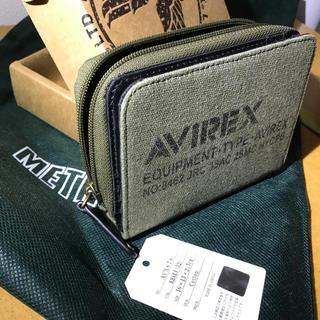 5182c39ecef3 アヴィレックス(AVIREX)のavirex 財布 新品 カーキ myk様専用(財布)