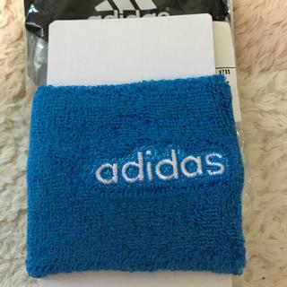 アディダス(adidas)の値下げ!アディダス リストバンド スカイブルー(バングル/リストバンド)