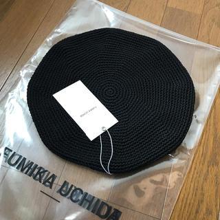 nicochiro様専用  18SS FUMIKA UCHIDA ベレー (ハンチング/ベレー帽)