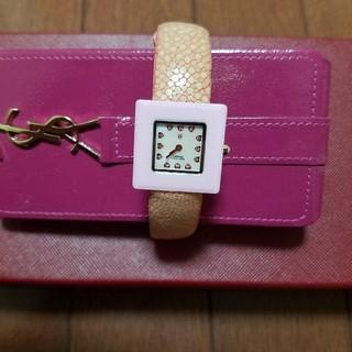アンクラーク(ANNE CLARK)の腕時計 ピンクエイ皮バンド アンクラーク(腕時計)