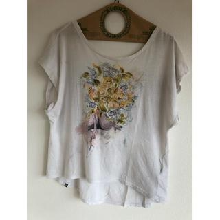 インサイト(INSIGHT)のInsight バック開きTシャツ(Tシャツ(半袖/袖なし))
