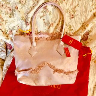 ヴィヴィアンウエストウッド(Vivienne Westwood)のヴィヴィアン ゴブランローズ  ピンク バッグ 未使用(トートバッグ)