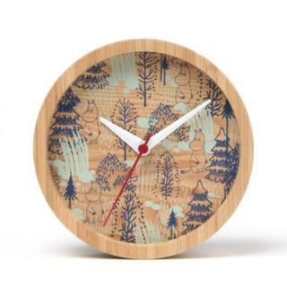 スタディオクリップ(STUDIO CLIP)のスタディオクリップ ウッディ 時計 ムーミン柄(掛時計/柱時計)