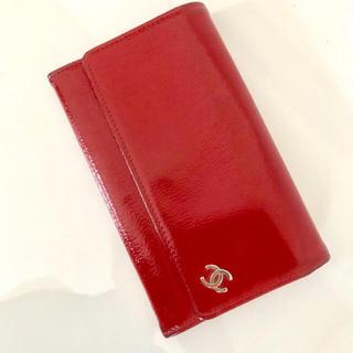 シャネル(CHANEL)の金土日限定値下げ♡CHANEL エナメル長財布(財布)