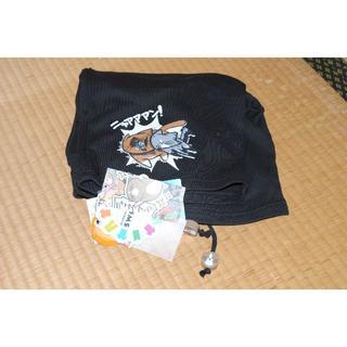 シマムラ(しまむら)の猫のぽんた ニャアアアン! ショートパンツ 黒 2L(ショートパンツ)