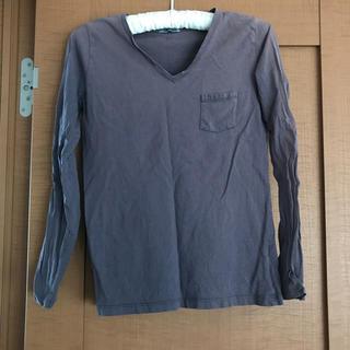 ジーユー(GU)のgu vネック ロンt☆(Tシャツ(長袖/七分))