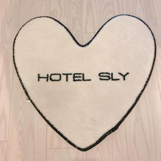 スライ(SLY)のHOTEL SLYラグマット☆玄関マット☆トイレマット☆バスマット(玄関マット)