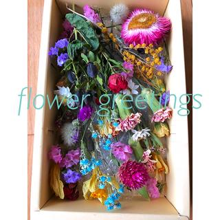 ドライフラワー 花材 素材 枝付き アレンジメントセット お値下げ(ドライフラワー)