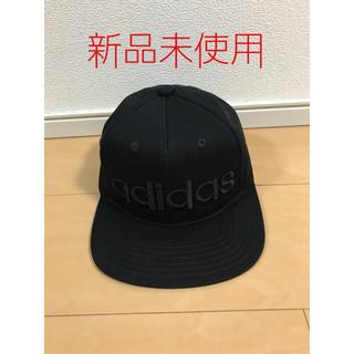 アディダス(adidas)の新品未使用★adidas★ロゴベースボールキャップ★キッズ★ライトオン★ブラック(帽子)