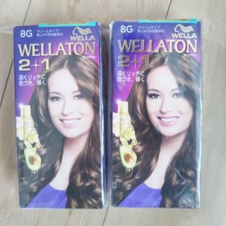 ウエラ(WELLA)のWELLATON 2+1 白髪染め 2個セット(白髪染め)