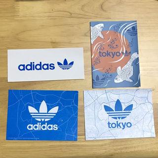 アディダス(adidas)のadidas ポストカードセット(ミュージシャン)