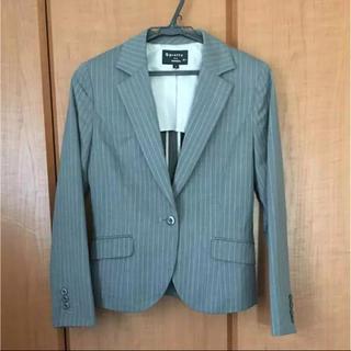ナチュラルビューティーベーシック(NATURAL BEAUTY BASIC)のpretty women ストライプ パンツ スカート スーツ 9号(スーツ)