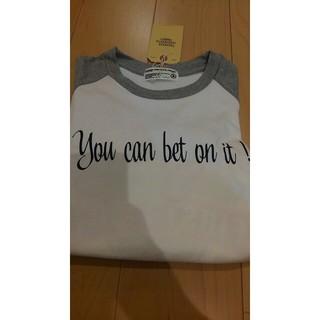 スキャナー(SCANNER)のSCANNER  ラグラン7分丈 タグつき XL(Tシャツ/カットソー(七分/長袖))