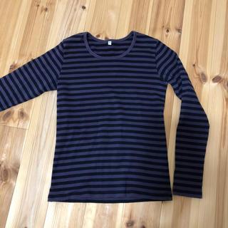 ムジルシリョウヒン(MUJI (無印良品))の無印良品 M ボーダーカットソー(Tシャツ(長袖/七分))