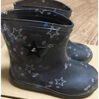 アニエスベー(agnes b.)のアニエス・ベー 長靴 14センチ(長靴/レインシューズ)