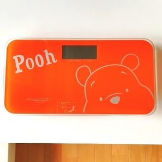 ディズニー(Disney)の体重計 プーさん ヘルスメーター(体重計)