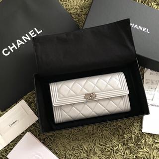 シャネル(CHANEL)の新品  CHANEL シャネル  財布 シルバーグレー(財布)