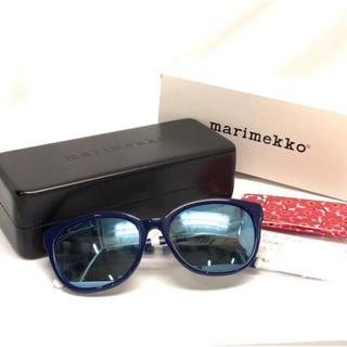 マリメッコ(marimekko)のマリメッコ サングラス メガネフレーム 美品(サングラス/メガネ)