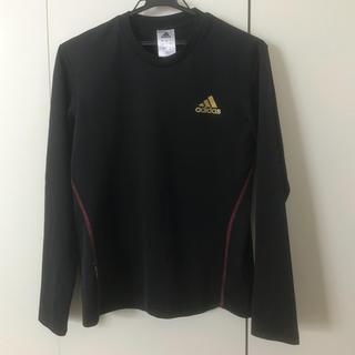 アディダス(adidas)のadidas 長袖 Tシャツ S ブラック(Tシャツ/カットソー(七分/長袖))