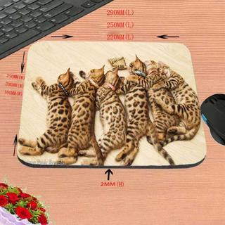 ベンガル猫 ベンガルキャット♪ ☆猫マウスパッド☆ 新品未使用品 送料無料♪(猫)