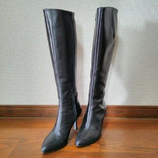 アカクラ(Akakura)のロングブーツ 黒(ブーツ)
