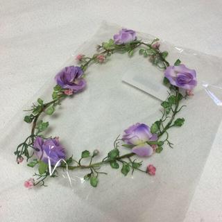 グレイル(GRL)のGRL フラワーティアラ 花冠(カチューシャ)