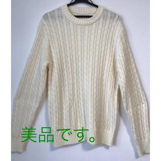 ジーユー(GU)のGUmen'sセーター(ニット/セーター)
