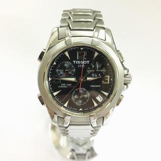 ティソ(TISSOT)のティソ 腕時計 TISSOT クロノグラフ 時計 メンズ(腕時計(アナログ))