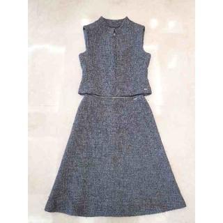 シャネル(CHANEL)のシャネル スカート ツイード セット スーツ ジャケット 38(スーツ)