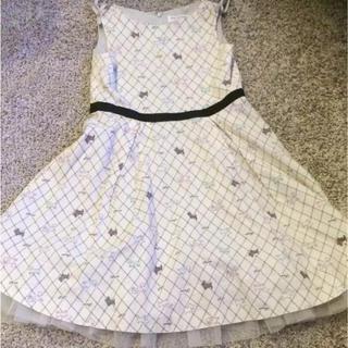 ポンポネット(pom ponette)のポンポネット ワンピース ドレス 130 ファミリア組曲 toccaピアノ発表会(ワンピース)