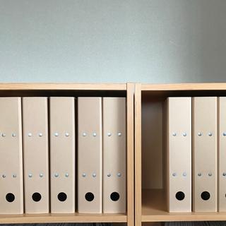 ムジルシリョウヒン(MUJI (無印良品))の無印良品 再生紙 2穴ファイル (パイプ式) 10冊セット (7冊新品未使用)(ファイル/バインダー)