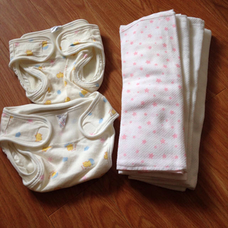 布オムツ セット サイズ60 6kg(布おむつ)