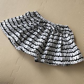 シマムラ(しまむら)のスカパン 95 美品 スカートパンツ(スカート)
