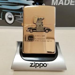 ジッポー(ZIPPO)の★zippo ジッポカーピンクゴールド新品★(タバコグッズ)