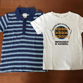 アディダス(adidas)のマザウェイズ アディダス 半袖 Tシャツ 2枚セット 120(Tシャツ/カットソー)