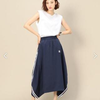 アディダス(adidas)のadidas  アディダス スカート 3本ライン(ロングスカート)