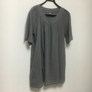 ムジルシリョウヒン(MUJI (無印良品))の無印良品 マタニティ 授乳服 M-L(マタニティトップス)