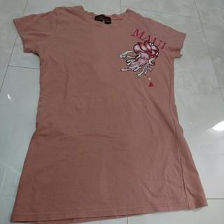 マカブー(makapu'u)のピンク色Tシャツ(Tシャツ(半袖/袖なし))